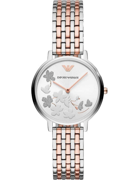 Emporio Armani Ladies Two Colour Bracelet Watch