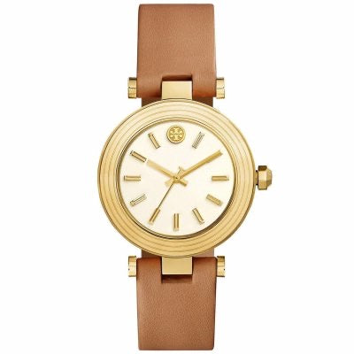 Tory Burch leather strap watche
