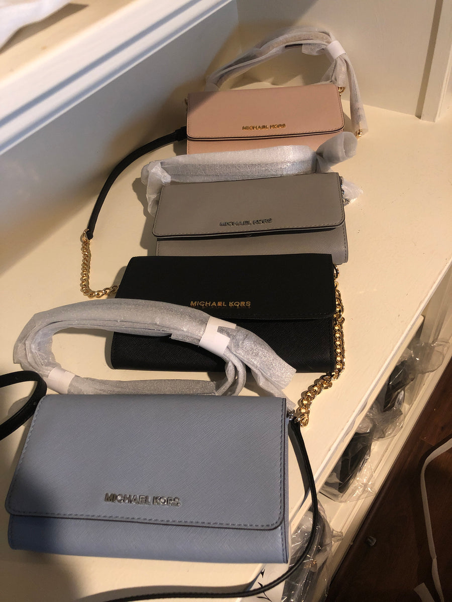 Michael Kors wallet on chain crossbody