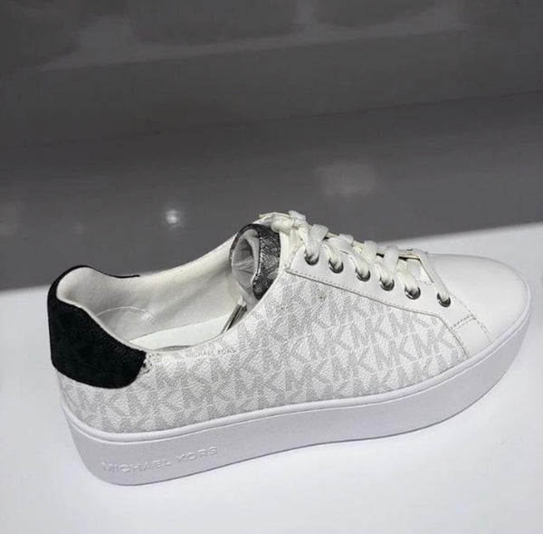 Michael Kors pvc white sneakers
