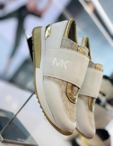 Michael Kors white/ivory sneakers