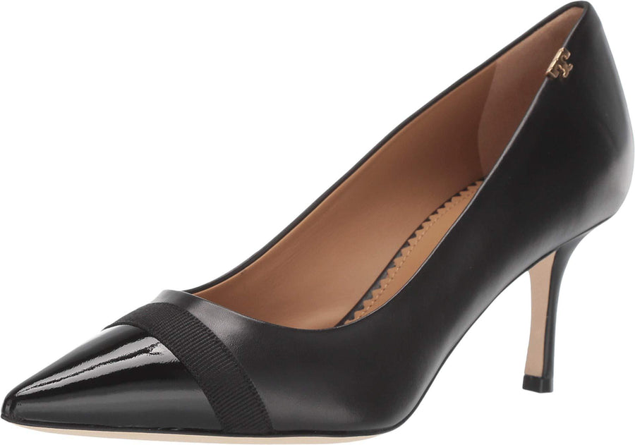 Tory Burch Penelope Cap-toe Slingback Pump: Women's Shoes