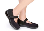 Springfield - Black Women's Mary Jane Stretchable (Women's)