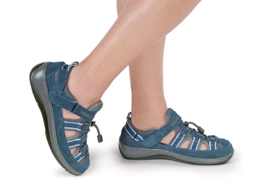 Naples - Blue Orthotic Sandals (Women's)