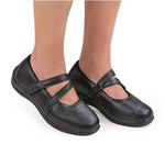 Celina - Black Mary Jane Shoes (Women's)