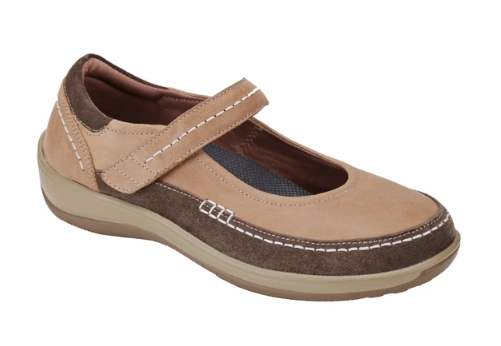Athens - Beige Mary Jane Shoes (Women's)