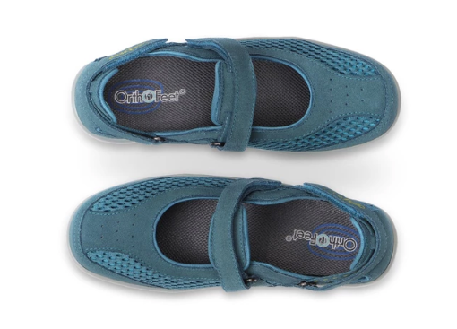 Sanibel - Blue Mary Jane Shoes (Women's)