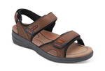 Cambria Brown Men's Sandals (Men's)