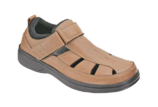 Melbourne - Brown Orthotic Sandal (Men's)