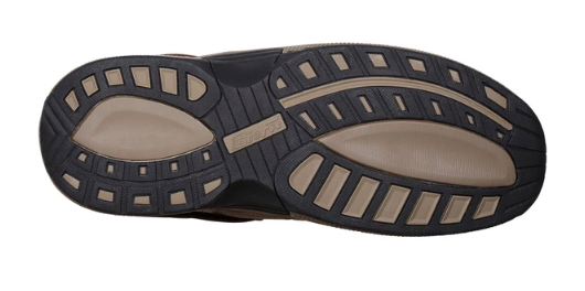 Alpine Brown Orthotic Sandal (Men's)