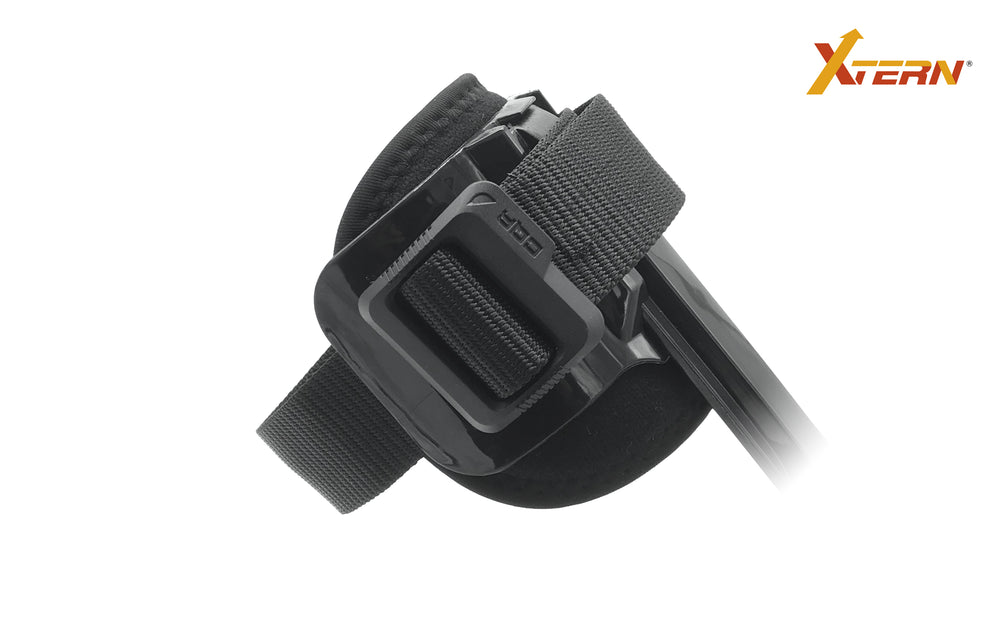 Tactical belt calf strap