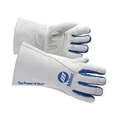 Miller Welding Gloves - MIG Gloves (lined) (Select Size Below)