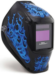 Miller Welding Helmet - Blue Rage Performance ClearLight Lens 282001