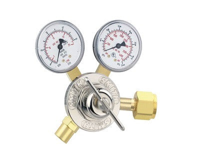 Miller/Smith CO2 Flowgauge Regulator - 30 Series 31-50-320 (Optional 6ft Hose)