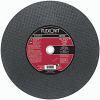 "Flexovit Cut-Off Wheel 14"" x 3/32 x 7/8, A30RB Type 1: F5521FL"