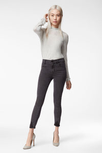 ALANA HIGH RISE CROP SKINNY - BELLATRIX DESTRUCT
