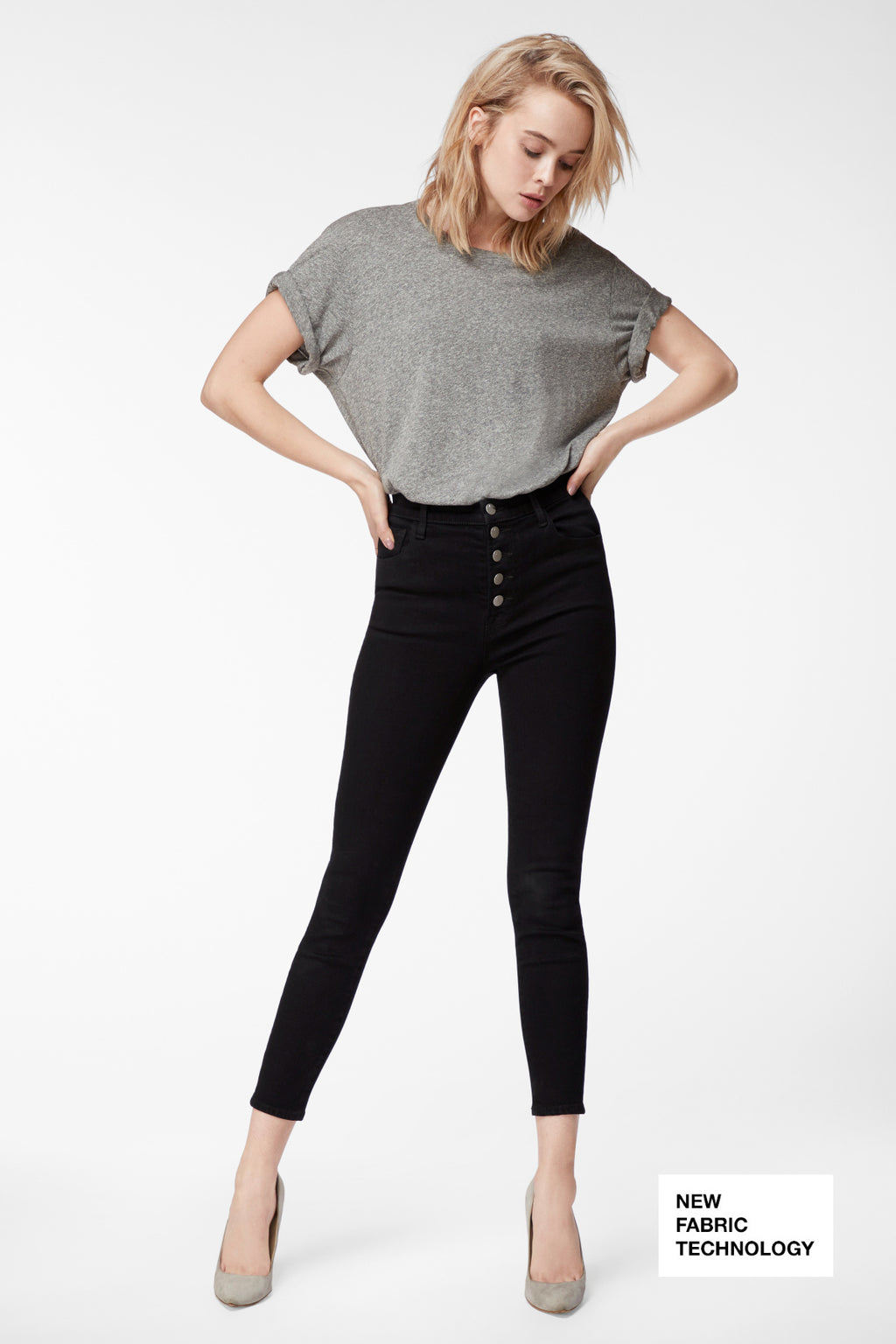 LILLIE HIGH RISE CROP - VESPER