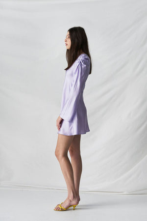 JUST IN TIME DRESS - LAVENDER