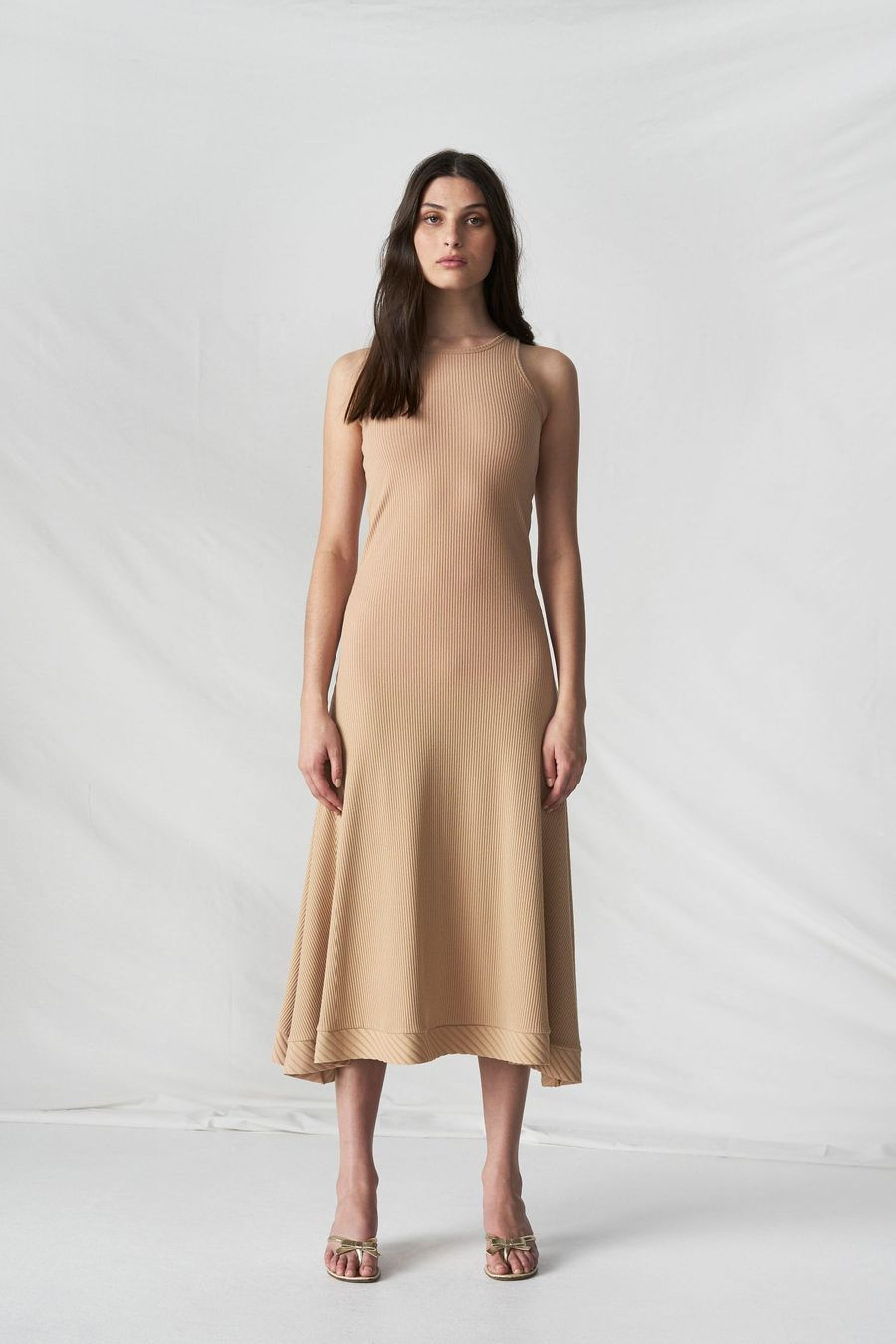 COURAGE AND ENDURANCE DRESS - CAMEL