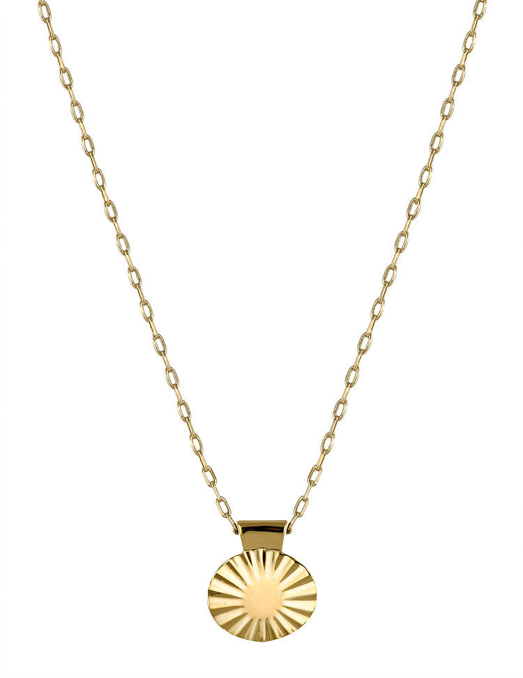 ELLIPSE 2 NECKLACE - GOLD PLATED (PRE-ORDER)