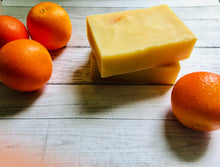 Load image into Gallery viewer, Tangerine Soap Bar