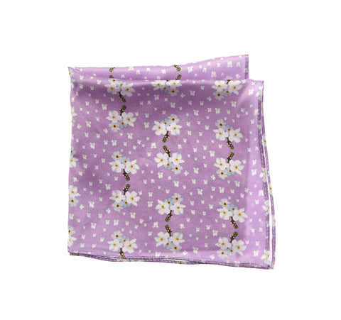 Forget Me Not Pocket Square