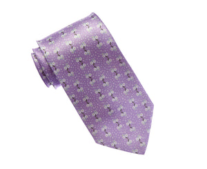 Forget Me Not  Satin Tie