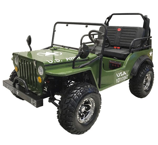 Commando 125cc Jeep