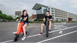 Foldable Electric Scooter, Electric Folding Bicycle with Lithium Battery