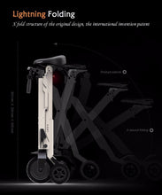 Load image into Gallery viewer, Foldable Electric Scooter, Electric Folding Bicycle with Lithium Battery