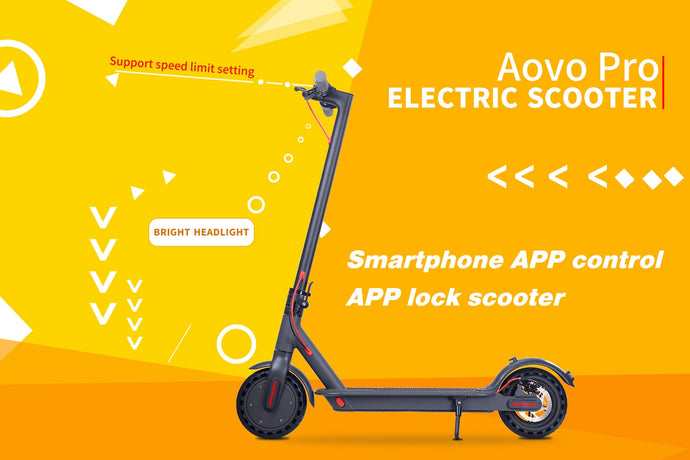 8.5 Inch Electric Scooter Smart Bluetooth Application Scooter Adult Folding Electric Scooter 350W Power Motor 7800MAh Skateboard