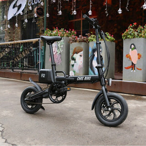 mini portable folding electric bicycle with li-ion battery & DISC brake