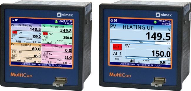 Using '4ControllerView' in MultiCon makes easy work of PID control