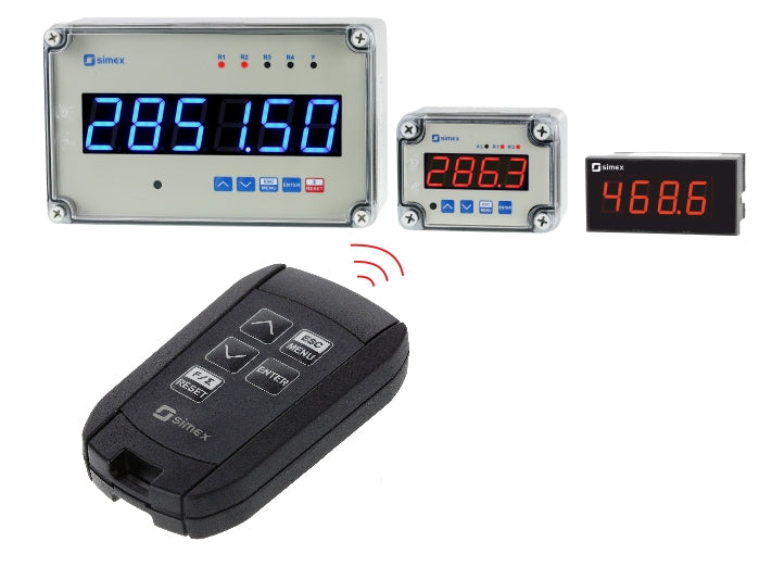 Industrial remote control SIR-25 for Digital Indicators
