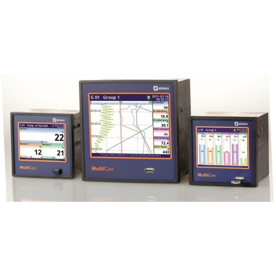 Instrumentation including indicators, controllers and data loggers