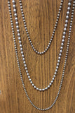 Sterling & Stainless Bead Chains