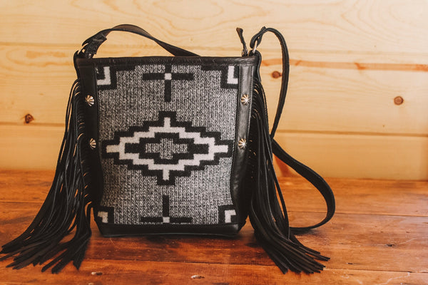 Medium Black Pendleton Purse