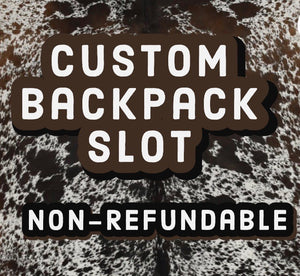 Custom Backpack Slot