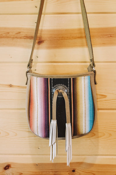Serape Saddlebag Purse