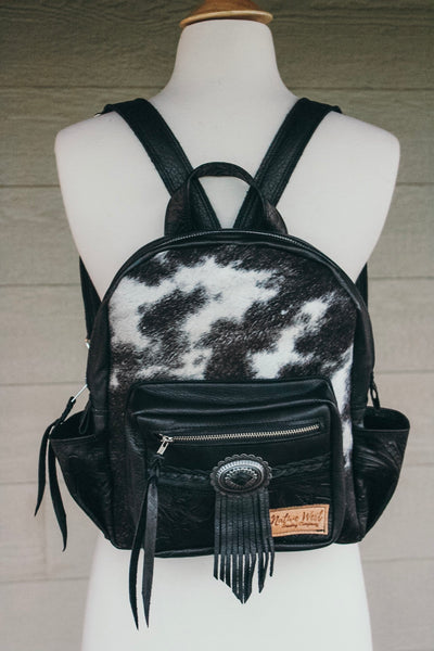 Mini Backpack* Hairhide with Concho
