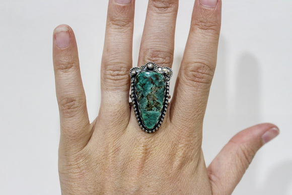 Prickly Pear Turquoise Ring