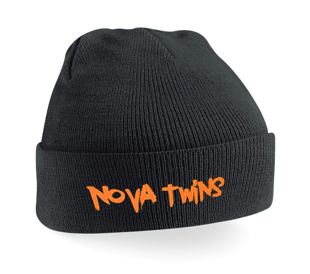 Nova Twins Orange Logo Beanie