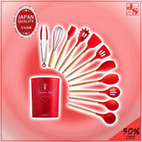 12 Pieces Set Ultimate Kitchen Utensil (SUPERIOR QUALITY UTENSILS!)