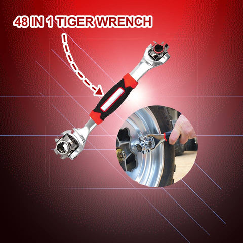 48 in 1 Tiger Wrench Professional Version