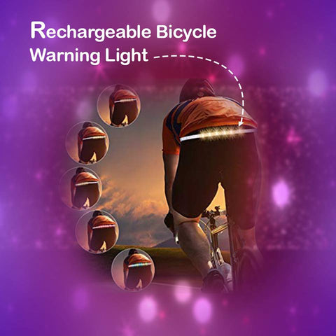 Rechargeable Bicycle Warning Light