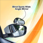 Blind Spots Wide Angle Mirror (Set of 2)