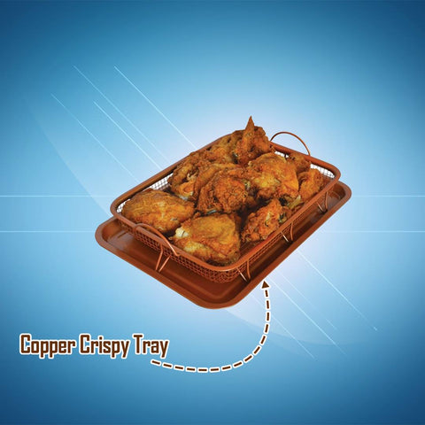 CrispFry™ Crispy Tray  (2 Piece Set)