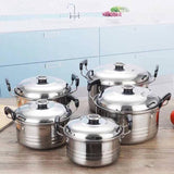 5Pieces set High Grade Stainless Steel Combination Series