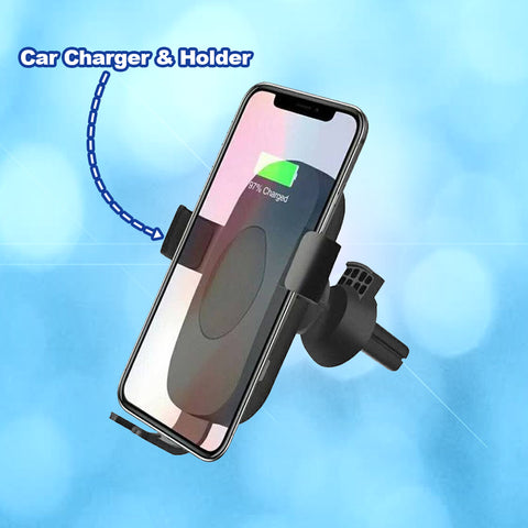 Inducee™  Car Charger and Holder