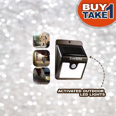 Motion-Activated Outdoor LED Lights - BUY 1 TAKE 1